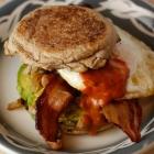 Daphne Oz's Mexican Breakfast Sandwich