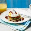 Mexican-style eggs benedict