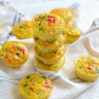 Make Ahead Rainbow Veggie Egg Cups