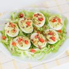 Avocado BLT Deviled Eggs