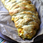 Bacon Egg & Cheese Breakfast Braid