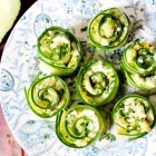 Egg & Avocado Cucumber Rolls