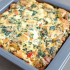 Sausage and Vegetable Egg Bake