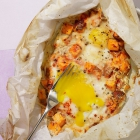 Smoky Sweet Potato, Egg & Cheese Breakfast Bake