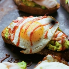 Avocado Toast with Turkey and Egg