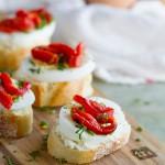 Egg and Pepper Crostini Recipe