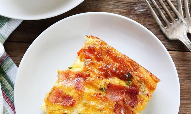 Bacon, Potato, and Egg Casserole