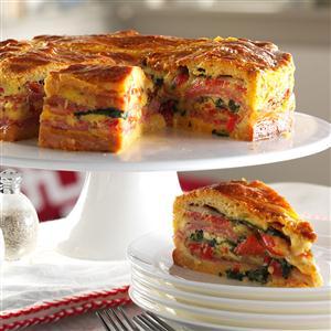 Italian Brunch Torte Recipe