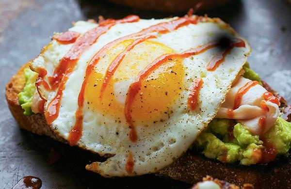 Avocado Toast with Turkey and Egg