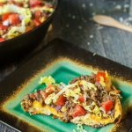 Low Carb Bacon Cheeseburger Frittata
